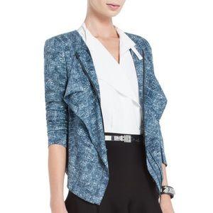 BCBGMaxazria  Eden Straight Ruffle Jacket